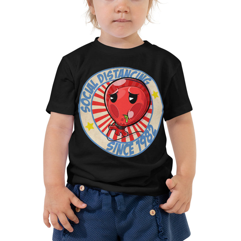 Social Distancing : Chunder Toddler Short Sleeve Tee