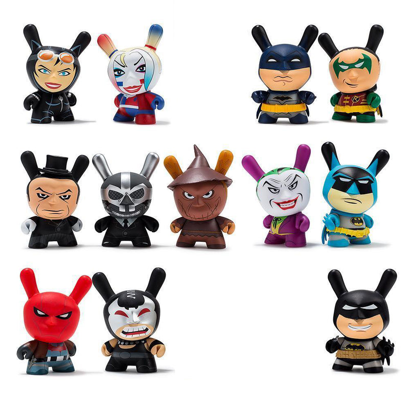 Kidrobot Batman Dunny Open Box Mini-Figures - RedGuardian Art & Toys