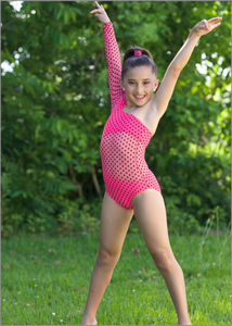 D-201959 Hottie dottie leotard