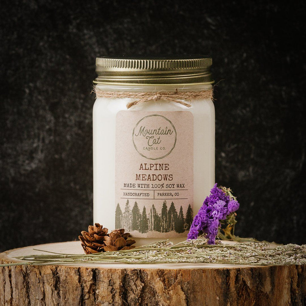 Alpine Meadows - Mountain Cat Candle Co.