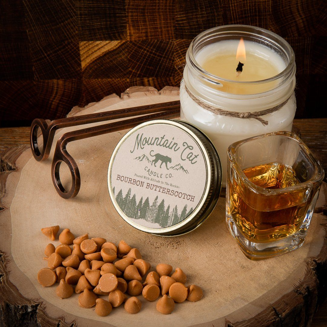 Bourbon Butterscotch - Mountain Cat Candle Co.