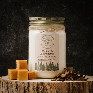 Caramel+Tobacco - Mountain Cat Candle Co.