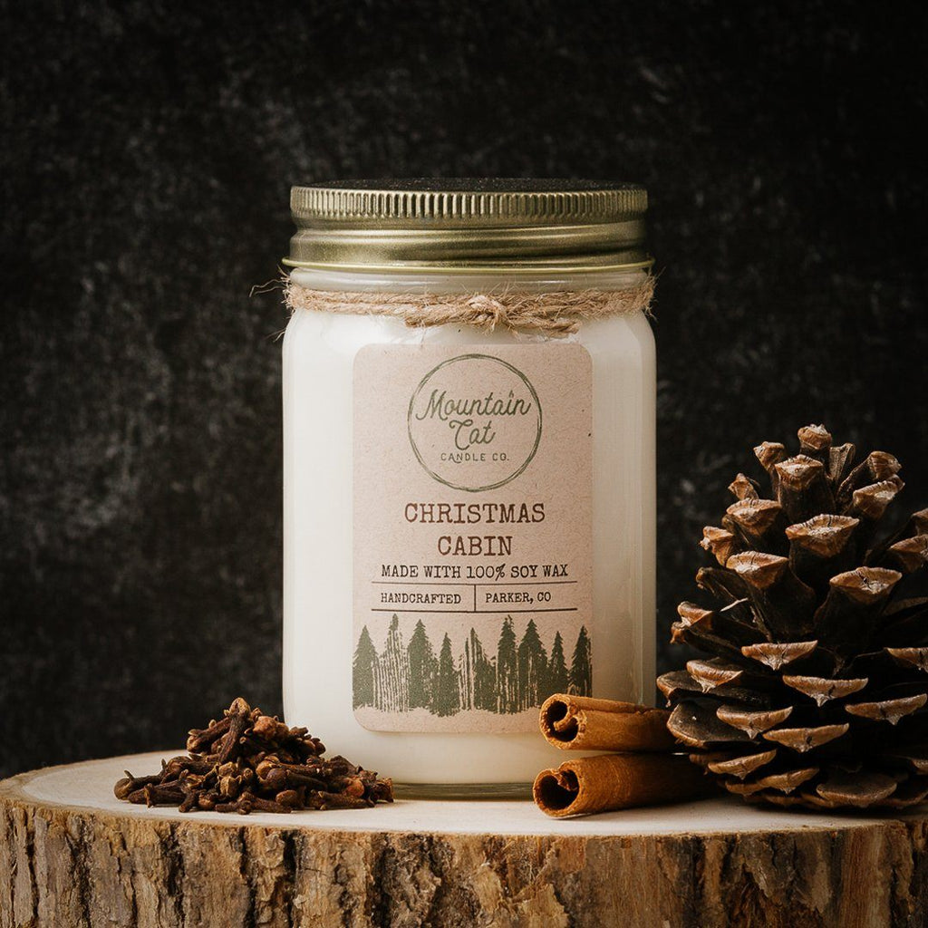 Christmas Cabin - Mountain Cat Candle Co.