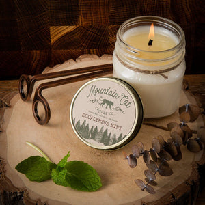 Eucalyptus + Mint - Mountain Cat Candle Co.