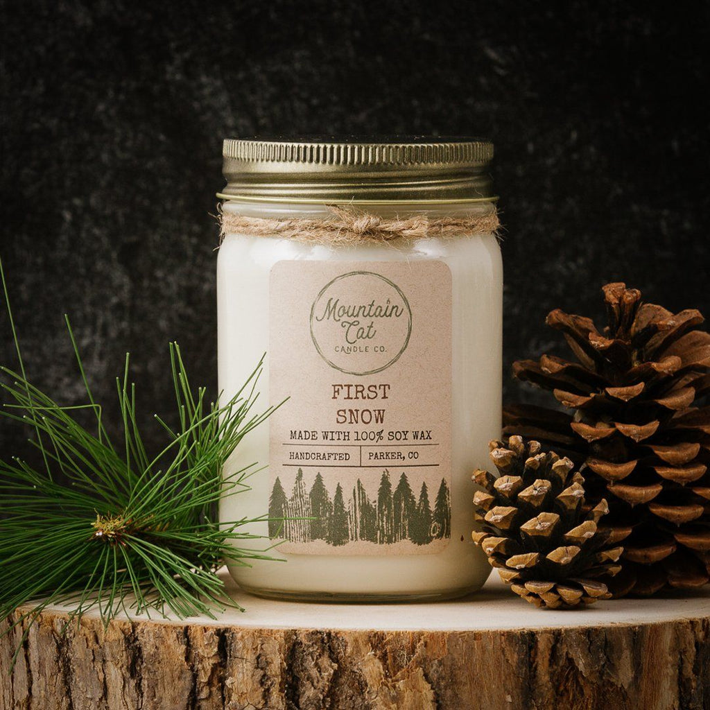 First Snow - Mountain Cat Candle Co.