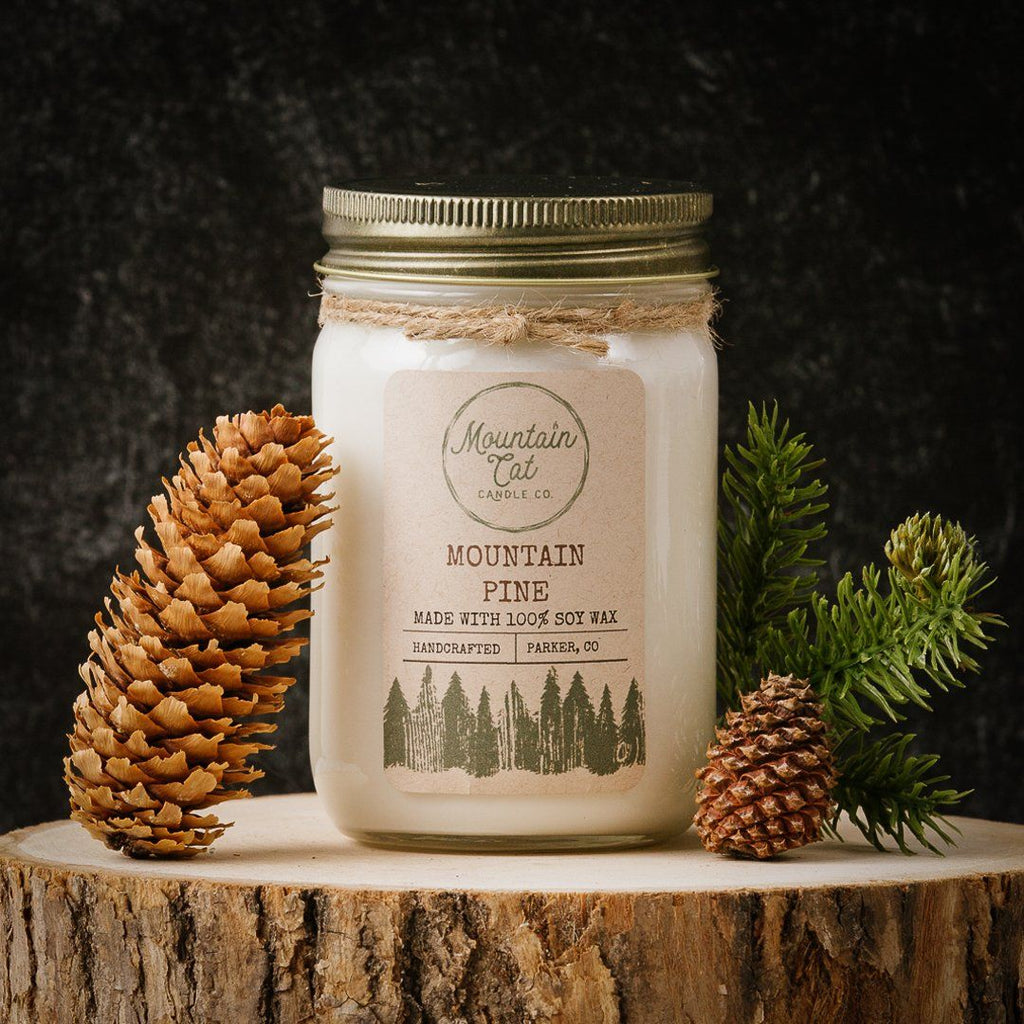 Mountain Pine - Mountain Cat Candle Co.