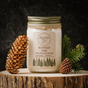 Mountain Pine Candles Mountain Cat Candle Co