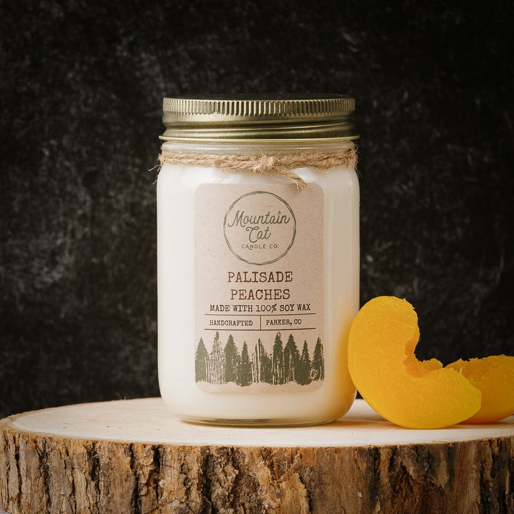 Palisade Peaches - Mountain Cat Candle Co.