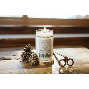 Rustic Farmhouse Large Jelly Jar Candle