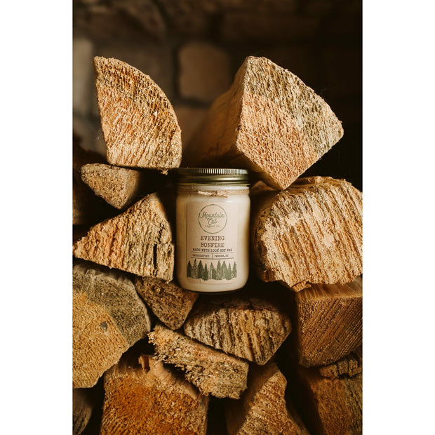 Rustic Farmhouse Large Jelly Jar Candle 1
