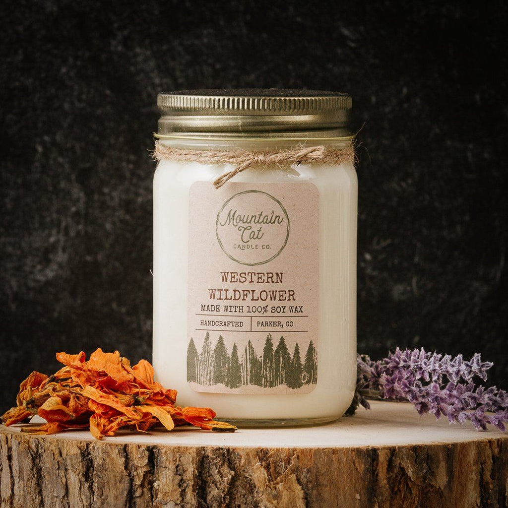 Western Wildflower - Mountain Cat Candle Co.