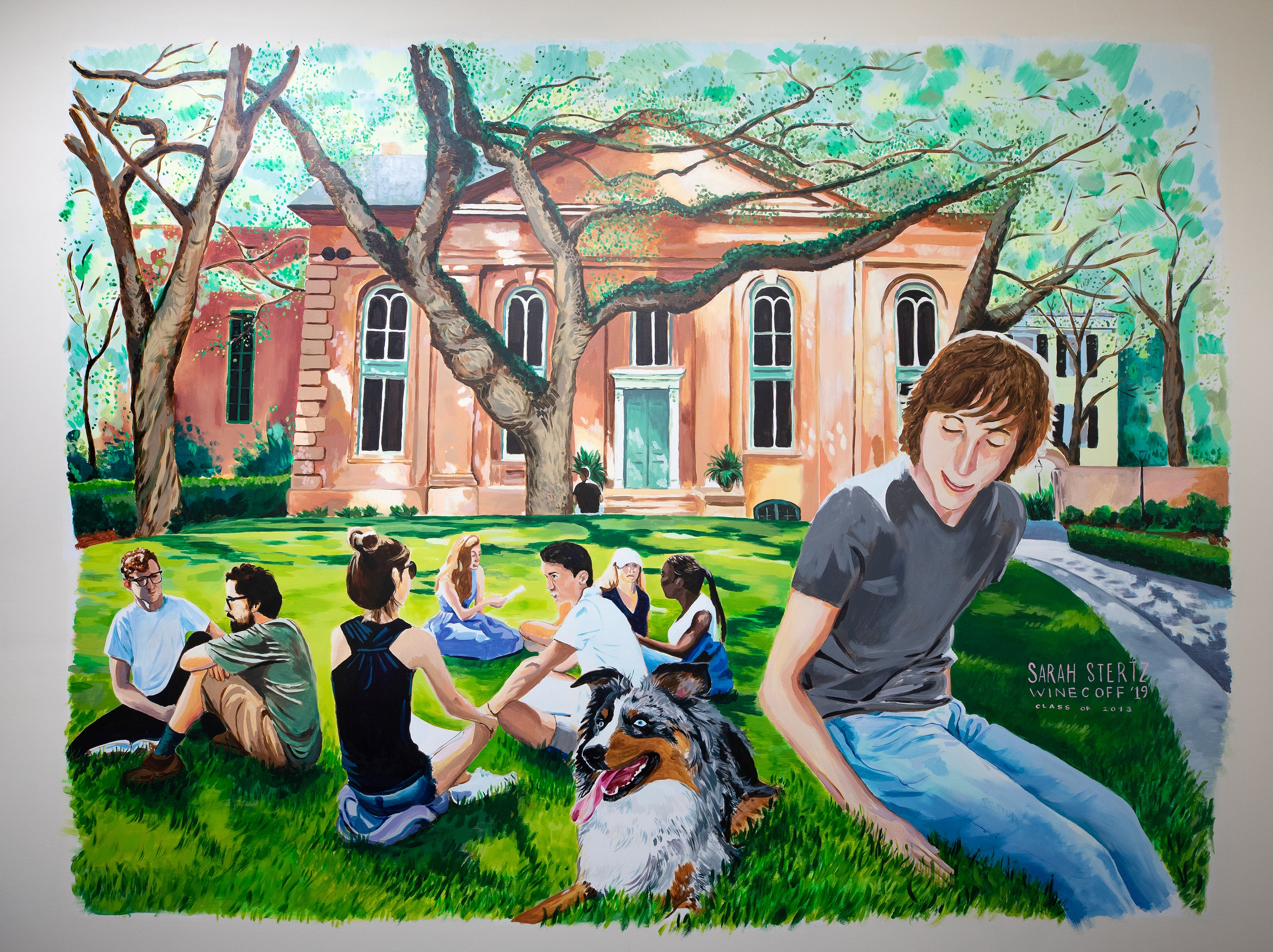 College of Charleston Mural