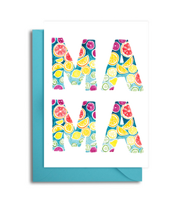 Mother's Day Card Citrus Mama