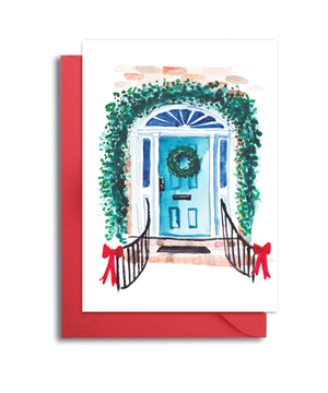 Charleston Doors Christmas Cards