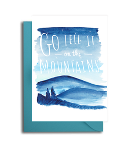 Go Tell it on the Mountains Card