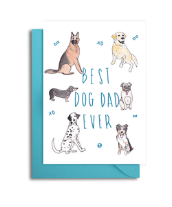 Best Dog Dad Ever Card