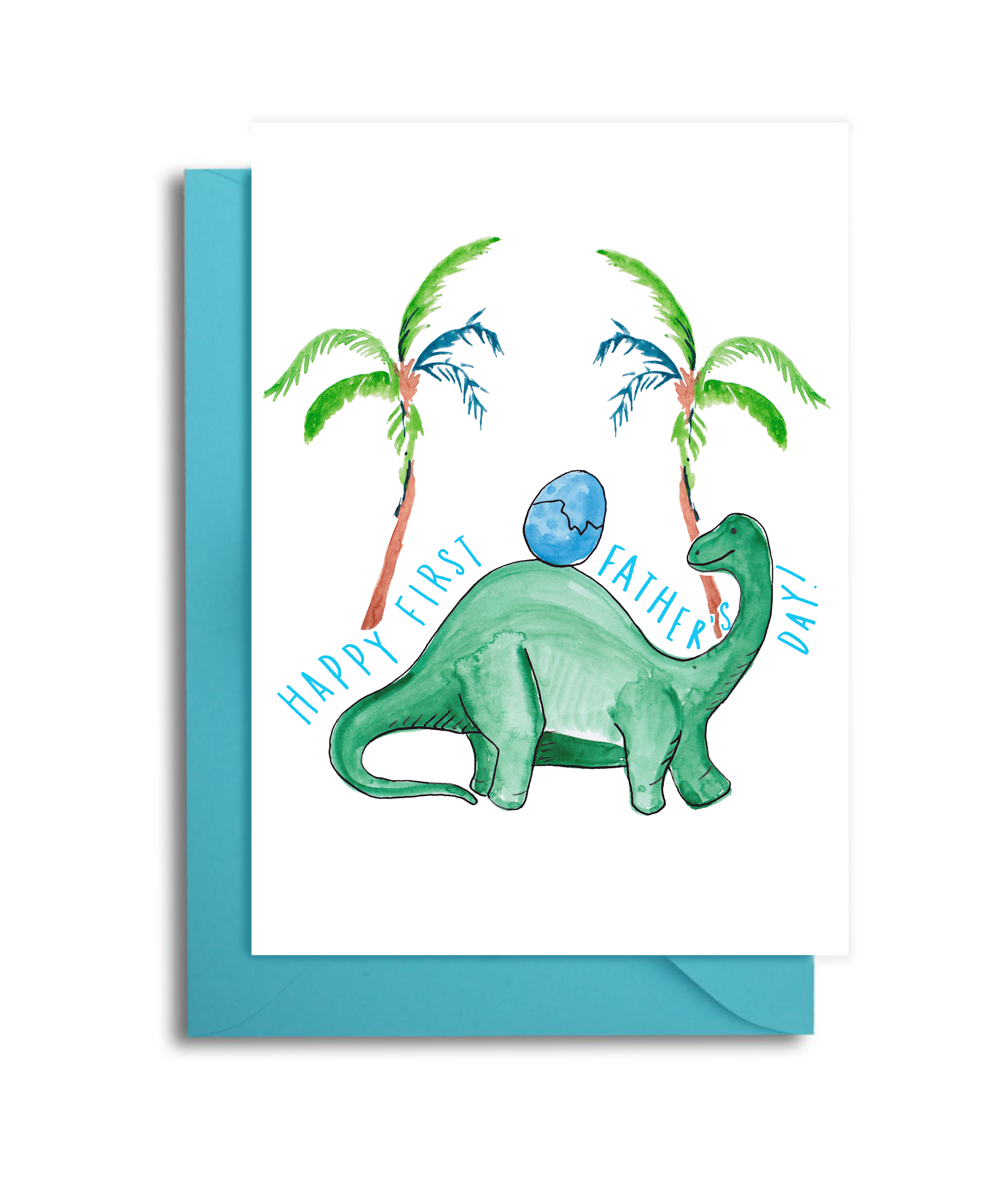 Dinosaur Father's Day Card
