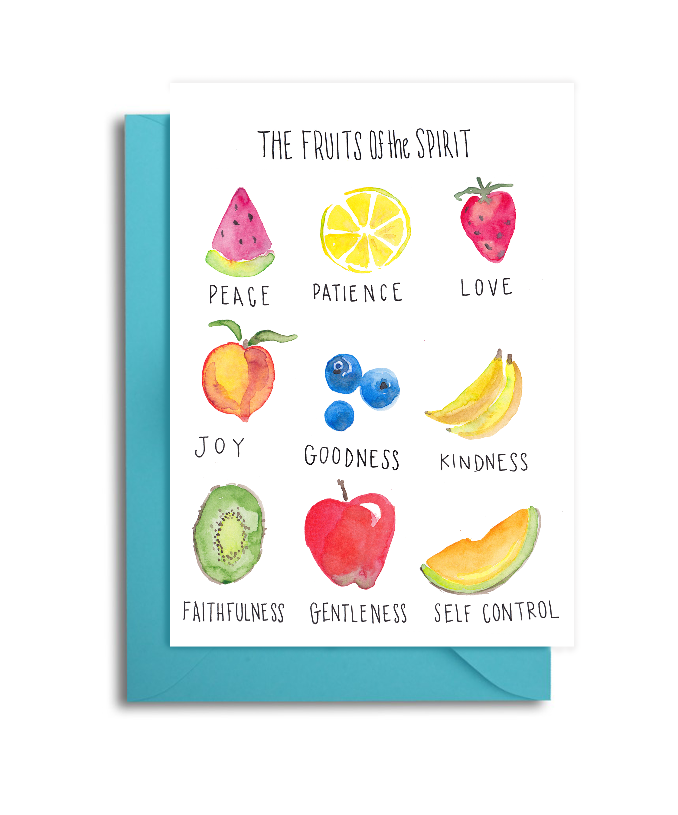 Fruits of the Spirit Card