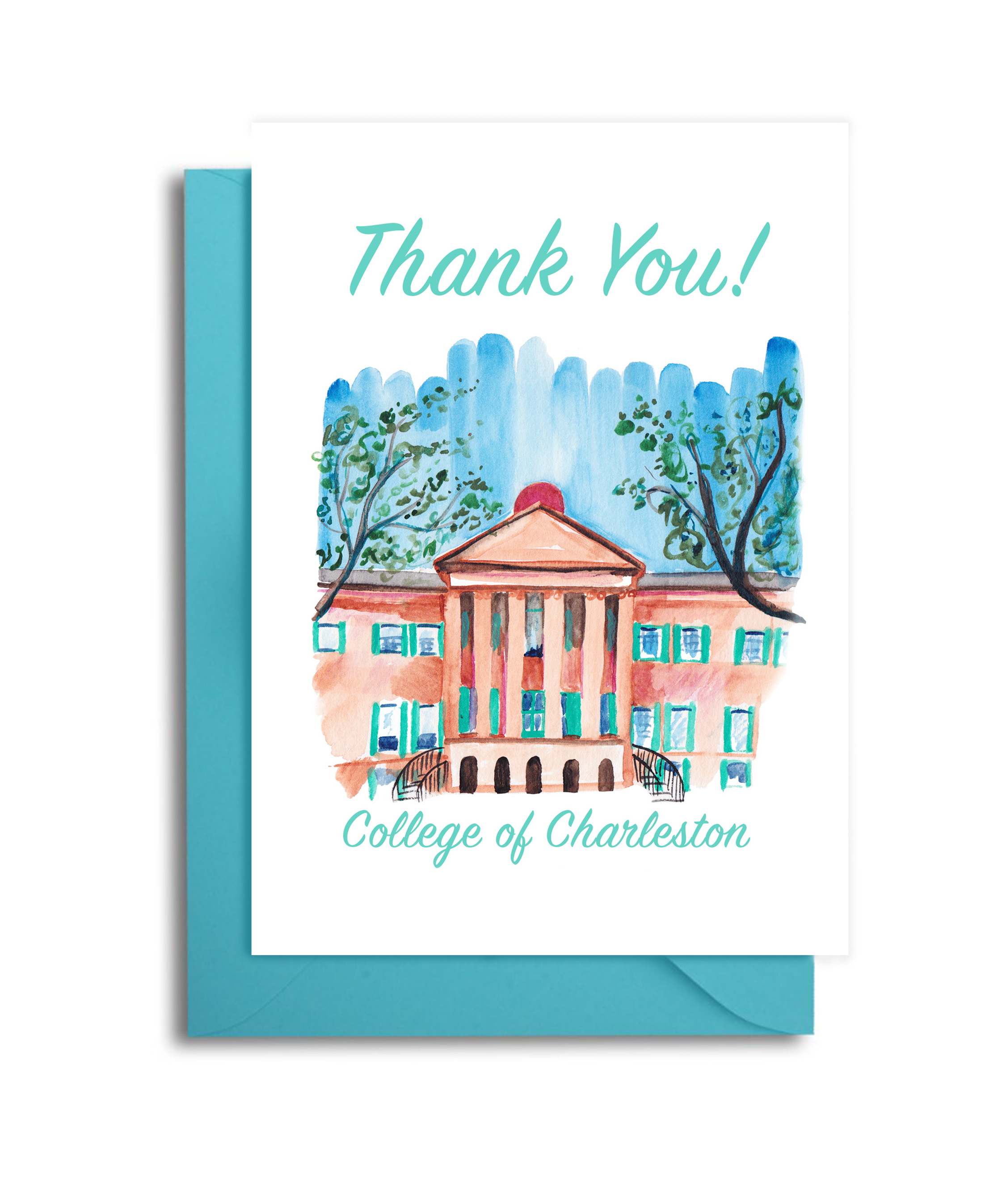 College of Charleston Card