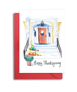 Happy Thanksgiving Charleston Front Door