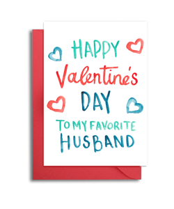 Favorite Husband Valentine