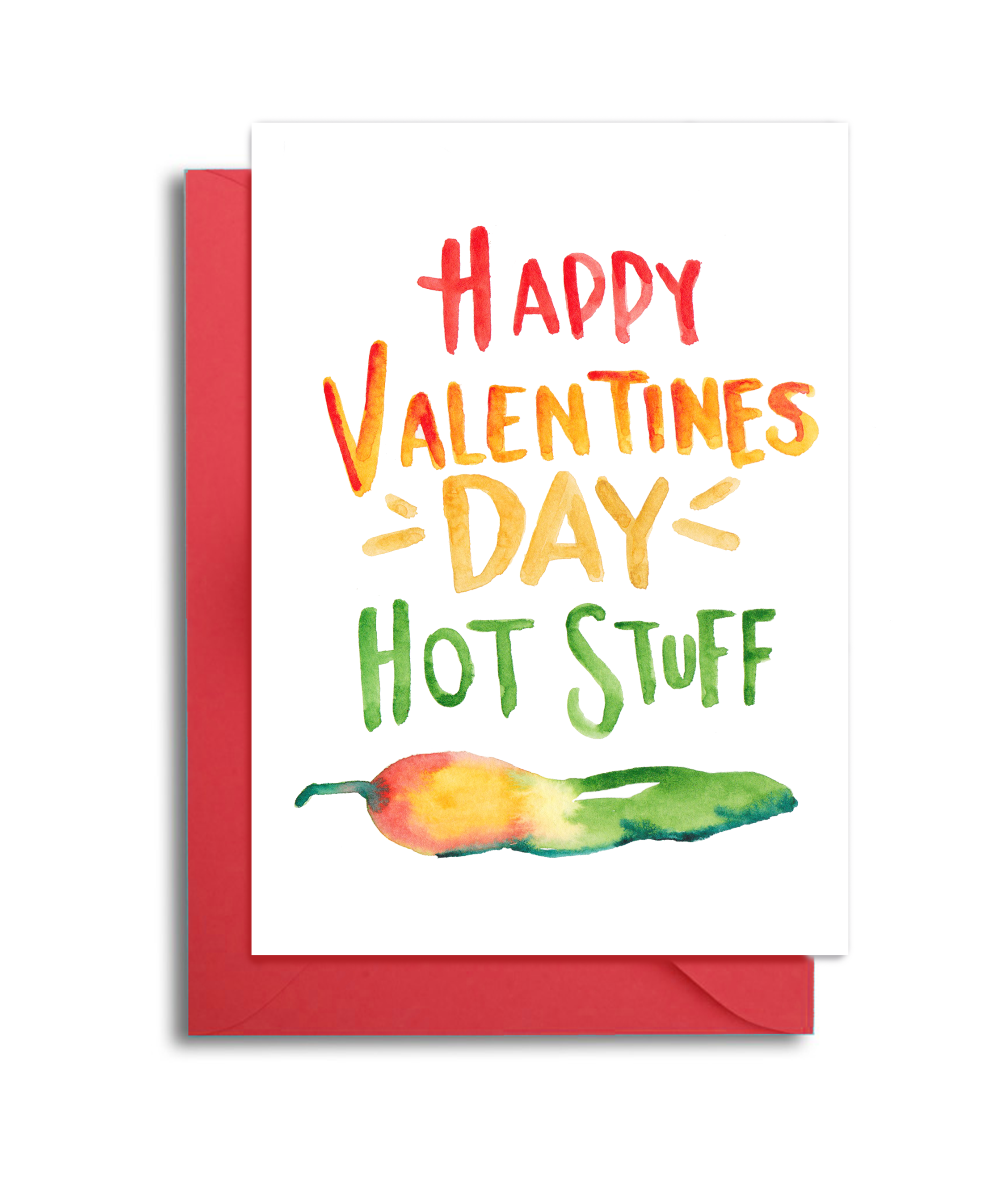 Hot Stuff Hot Pepper Valentine