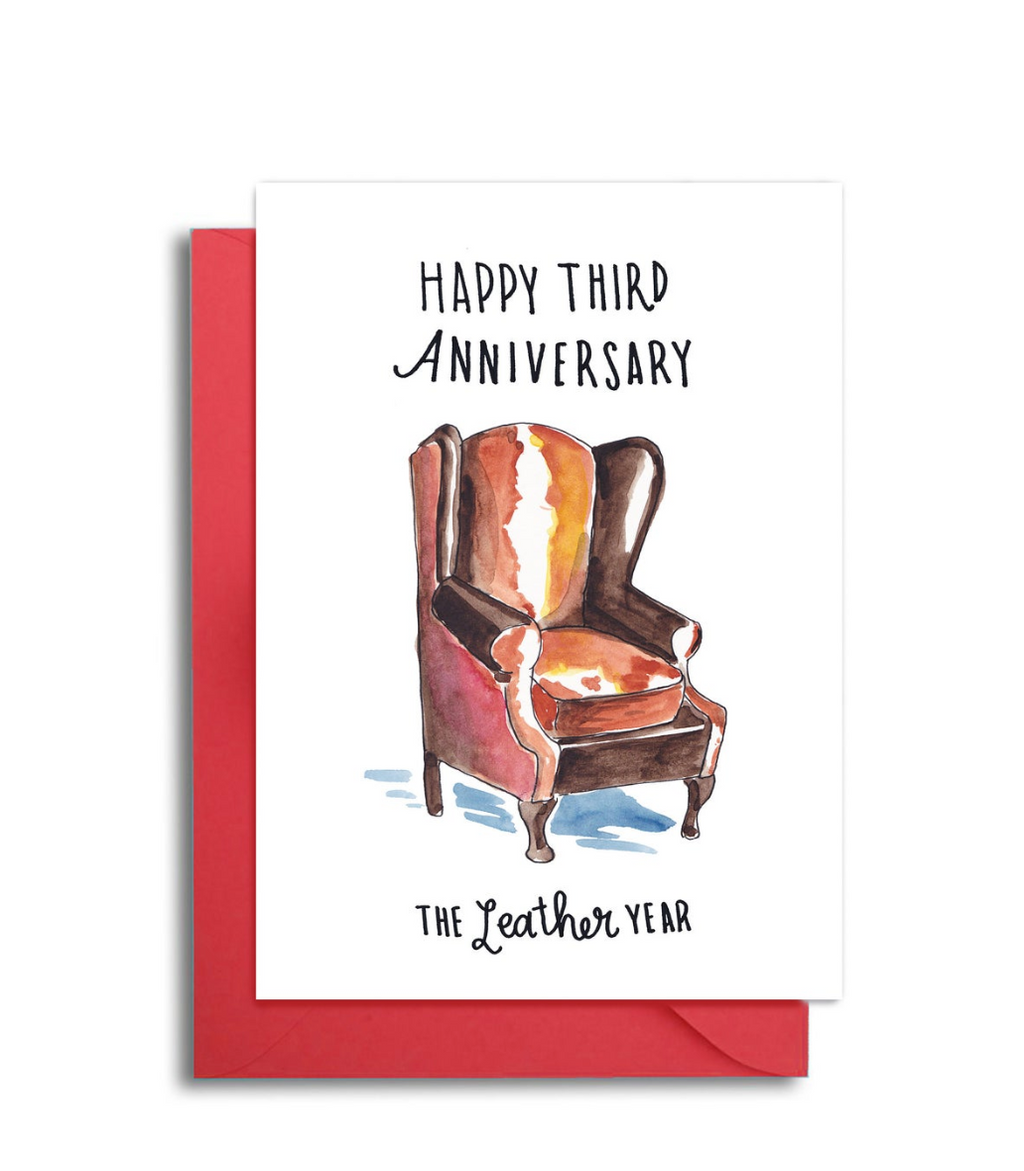 Third Wedding Anniversary - The Leather Year