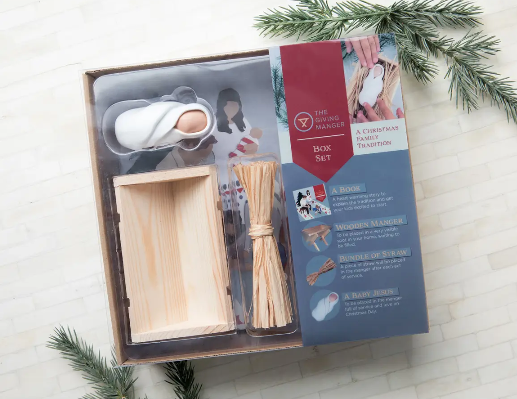 The Giving Manger Gift Box Set