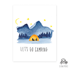 Father's Day Camping Card