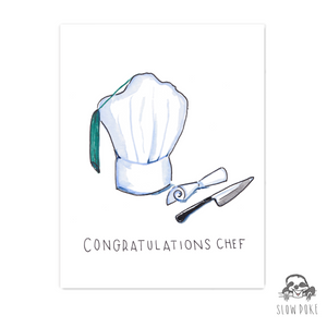 Culinary School Graduation Card