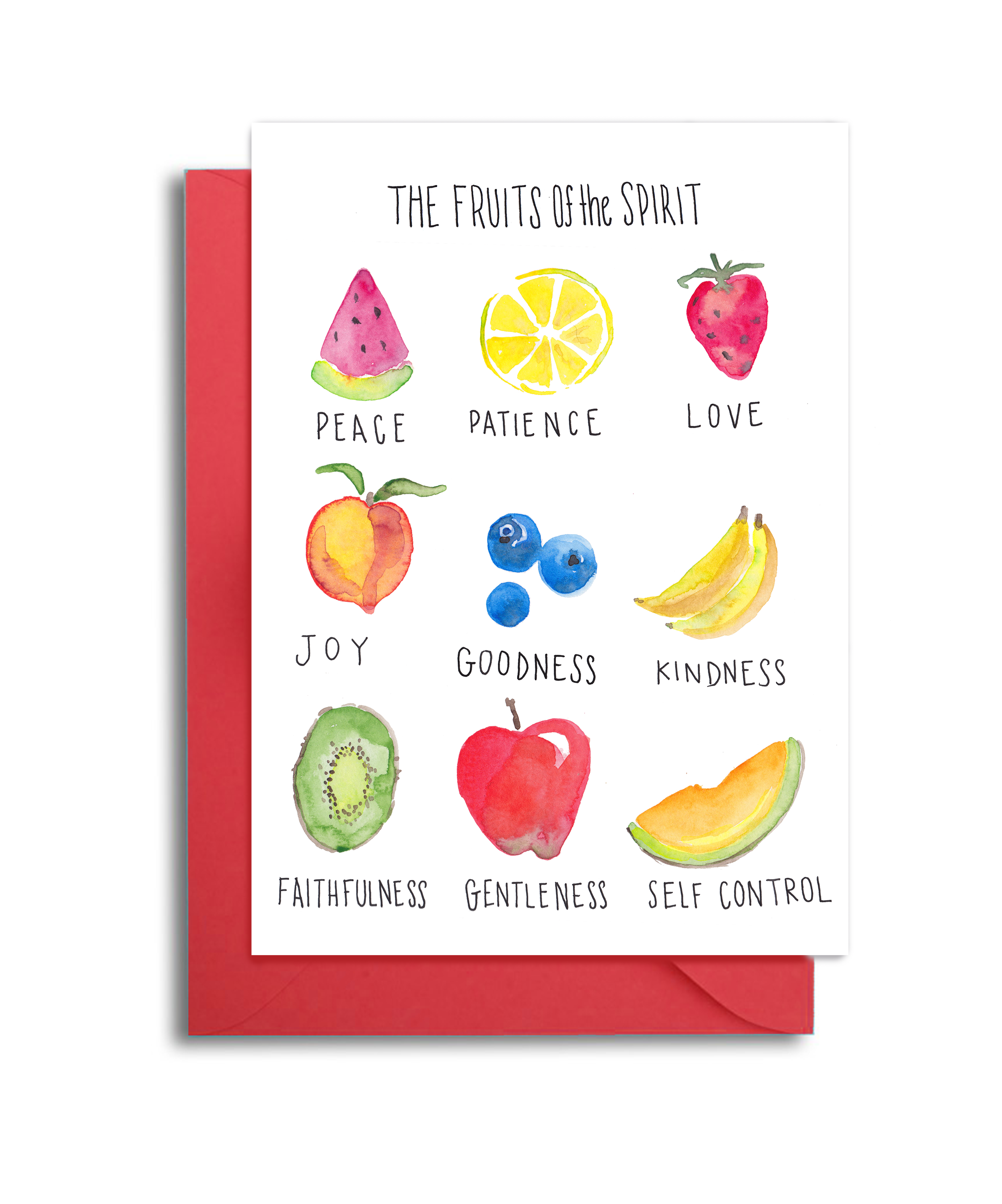 Fruits of the Spirit Note Card Set