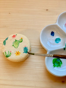 Macaron Painting Workshops - Tuesday July 21st 6-8pm