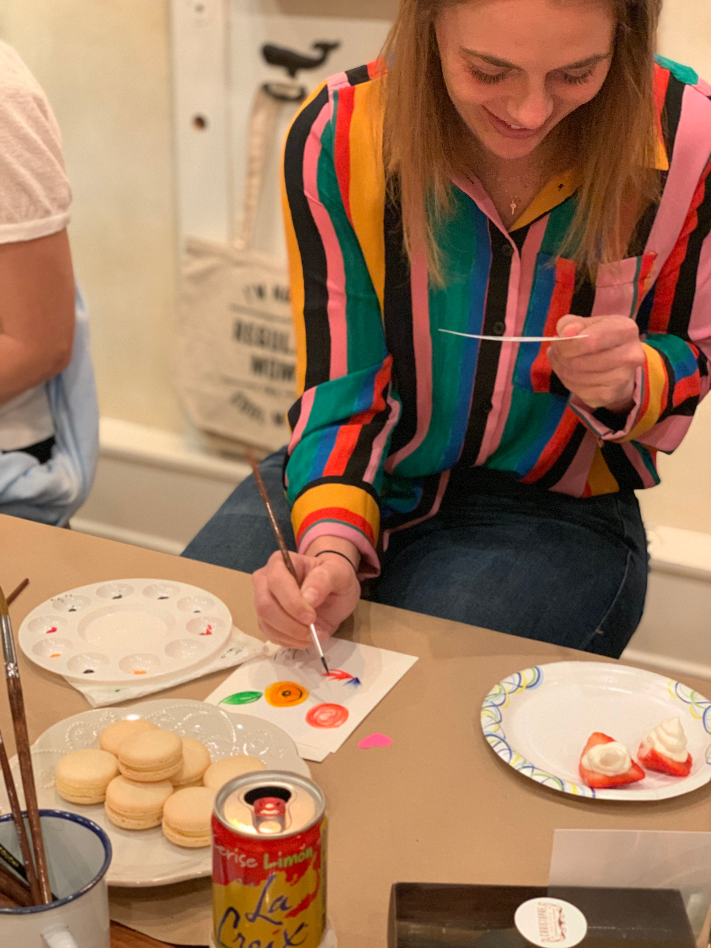 Private Macaron Painting Workshop - June 11th at 11am
