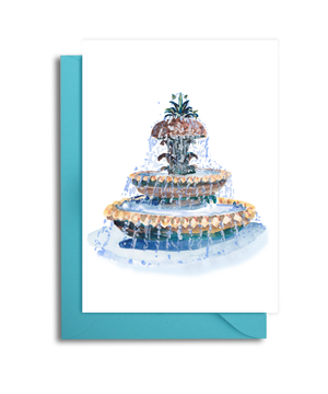 Charleston Themed Set of 6 Note Cards