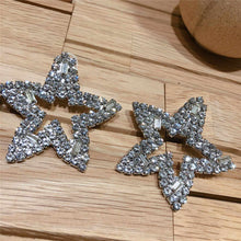 Load image into Gallery viewer, Star Crystal Earrings