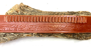 Embossed Cowboy Belt with Cartridge Loops