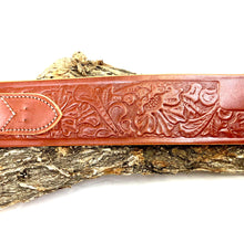 Load image into Gallery viewer, Embossed Cowboy Belt with Cartridge Loops