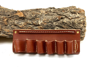 .12 gauge, .20 gauge, 20 gauge, 12 gauge, shotgun belt slide, Shotgun Shell carrier, Leather shotgun shell slide