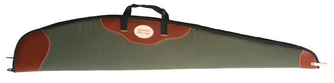 Scoped Leather and Canvas Rifle Carrier