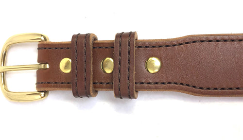 Kydex Reinforced Concealed Carry Dress Belt-Tapered