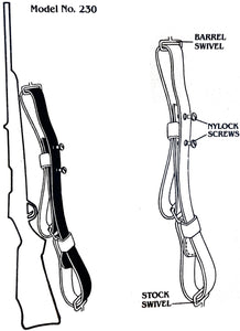 "Quick Fire Sling 1"" - 230 Series"