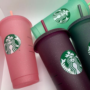 Starbucks Glitter Cold Cups