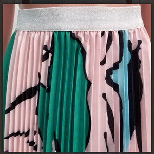 Fair Game Pleated Skirt