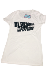 Load image into Gallery viewer, Black to the Future Tee