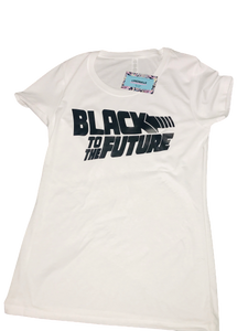 Black to the Future Tee