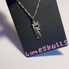 Load image into Gallery viewer, Zodiac Vertical Necklace