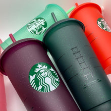 Load image into Gallery viewer, Starbucks Glitter Cold Cups