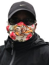 Load image into Gallery viewer, Eye of the Tiger face mask