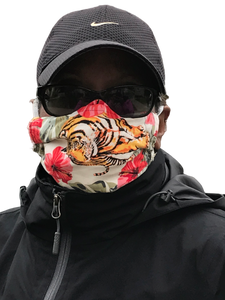 Eye of the Tiger face mask