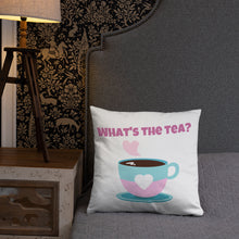 Load image into Gallery viewer, Tea Please Throw Pillow